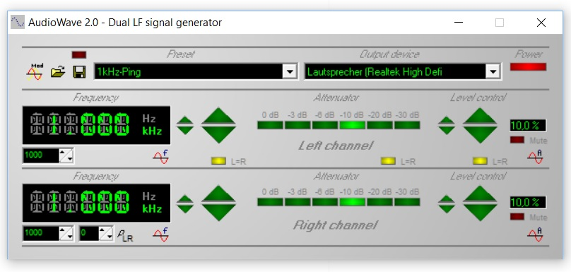 AudioWave screenshot