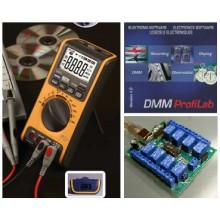 USB multimeter and relay board, bundle