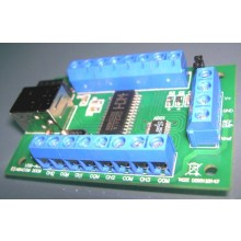 USB-ADC, 8 channels, 12 Bit, 4,095 V