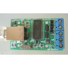 USB DAC, two outputs, 12 bit, 4,095 V