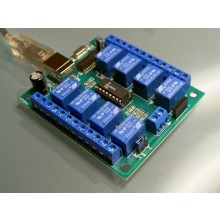 USB relay board LRB, 8 relays